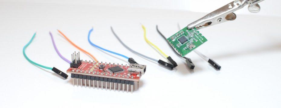 Arduino nano und CC1101 868MHz-Modul