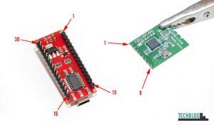 ArduinoNano und CC1101-868MHz Pinbelegung